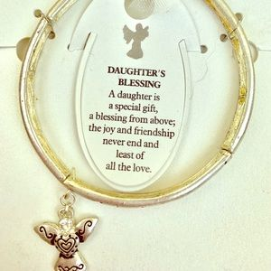 Jewelry - A daughters blessing angel bracelet